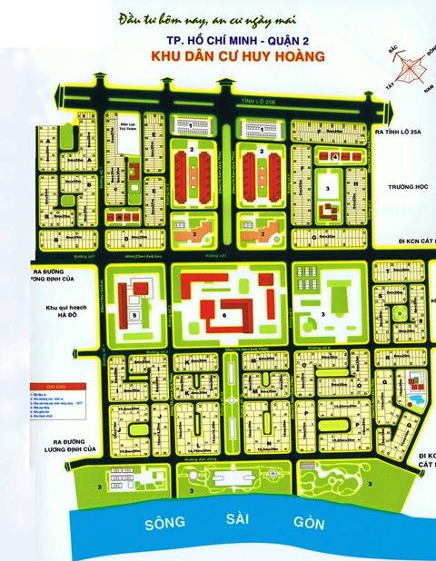 Bán đất Huy Hoàng Quận 2 giá 25tr/m2